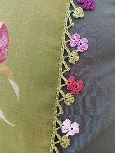 Diy Crafts Crochet, Crochet Art, Irish Crochet, Filet Crochet, Crochet Lace Edging, Crochet Borders, Crochet Flowers, Baby Knitting Patterns, Crochet Patterns