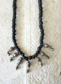 Black Kuchi Necklace