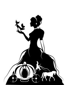 Princesses Belle Princess Aurora Princess Rapunzel Princess Cinderellaby Will Pigg // silhouette hand cut paper craft / inspired disney unique wall art Disney Silhouette Art, Disney Princess Silhouette, Silhouette Design, Cinderella Silhouette, Disney Crafts, Disney Art, Disney Decals, Ariel Disney, Kirigami