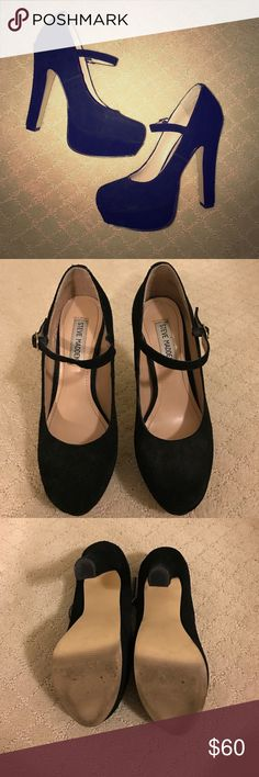 STEVE MADDEN VIKTOREE PUMPS Steve Madden Viktoree pumps for sale: Size 7, fits true to size. Worn as shown. Very comfy! Love how you can dress them up or down. In great condition. Sad I have to let these go but I'm trying to clean out my closet. Unfortunately I don't have the box/receipt. Steve Madden Shoes Heels