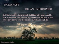 Revelation 2:25-26 | What is evil, Hold fast, Bible study methods