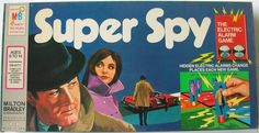 MILTON BRADLEY: 1971 Super Spy Game #Vintage #Games