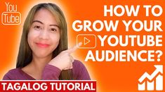 How to Grow Your Youtube Audience FAST?  (2020 Tagalog) Free Youtube, You Youtube, Digital Marketing Business, Youtube Thumbnail, Tagalog, Busy At Work, News Channels, Education, Tips