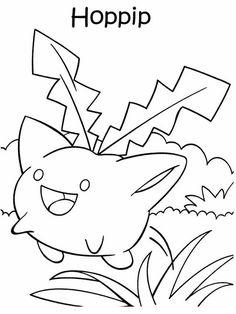 Desenhos para pintar Pokemon 37