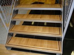 Flooring For Stairs, Best Flooring, Solid Wood, Bookcase, Shelves, Good Things, Projects, Basement, Diy Ideas