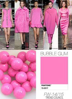 Farbpalette des Kühlen Farbtyps: Zuckerlrosa (Farbpassnummer 21) Kerstin Tomancok / Farb-, Typ-, Stil & Imageberatung