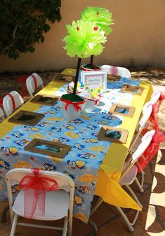 Snow White-themed party
