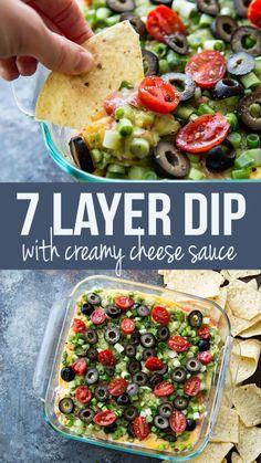 Classic 7 Layer Dip