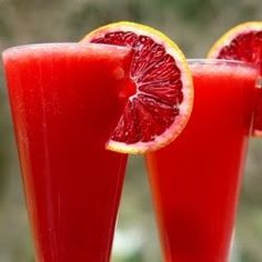 A red summer drink!