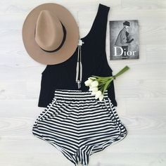 Everyone needs a staple black tank. Our new Scoop Singlet is the perfect shape, available now! Shorts available soon #saboskirt