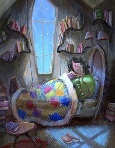 Sleepover, Marco Bucci Art Collection