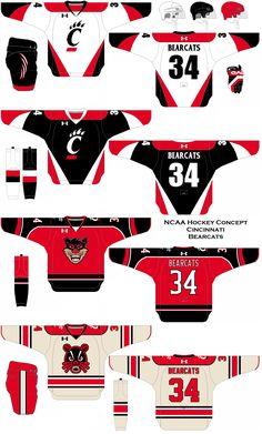 Cincinnati Bearcats, University Of Cincinnati, Chevrolet Logo, Hockey, Concept, Art, Block Prints, Craft Art, Field Hockey
