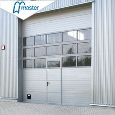 8X7 Clear Automatic Sectional Aluminum Profile Glass Garage Door - China Modern Garage Door, Glass Garage Door Prices | Made-in-China.com Contemporary Garage Doors, Modern Garage Doors, Wooden Case, Wooden Boxes, Garage Doors Prices, Rolling Shutter, Glass Garage Door, Industrial Door, Shutter Doors