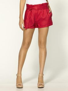 Linen Bow #Cuff #Shorts I def need these for this football season! Especially the early games when it's super duper hot!