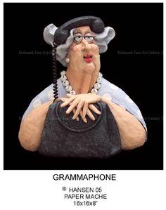 Image > Stephen Hansen sculpture - Grammaphone