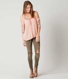 Gimmicks Cold Shoulder Top - Women's Shirts/Blouses   Buckle