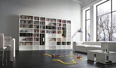 Lundia - Nuvola boekenkast met trap