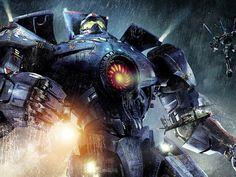 """O robô gigante pilotado por humanos enfrenta monstros vindos de outra dimensão em """"Círculo de Fogo"""", de Guillermo del Toro: homenagem aos antigos seriados japoneses (Foto: Divulgação)"""