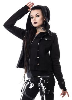Vixxsin Twin Jacket   Attitude Clothing