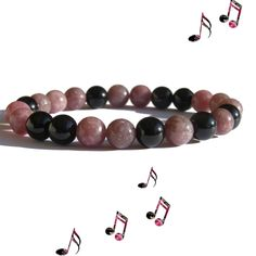 ZENstore Lepidolite & certified Black Tourmaline Healing Bracelet - natural gemstones . BALANCE 💗 POSITIVITY 💗PROTECTION . www.amazon.com/handmade/ZENstore www.amazon.de/handmade/ZENstore www.amazon.fr/handmade/ZENstore www.amazon.co.uk/handmade/ZENstore