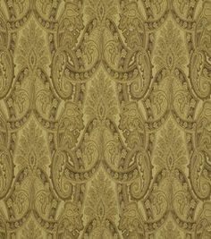 upholstery fabric dining room (Robert Allen Isere Paisley)