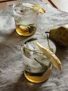 Pear and Sage Sparklers Fall Recipes, Great Recipes, Sparklers, Sage, Pear, Meal Planning, Easy Meals, Happy Hour, Cooking