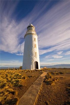 Cape Bruny Lighthouse - Tasmania My uncle, Harry Judd, was the lighthouse keeper on Bruny Island in the mid/late & early Best Hotel Deals, Best Hotels, Bruny Island, Beacon Of Light, Costa, Photos, Pictures, Places To See, The Good Place