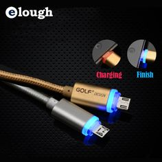Elough LED Light Micro Usb ≧ Cable Charger Mobile Phone Cable ᐂ for iPhone 5s 5 5c 6 6s Plus tablet Samsung  Mini Usb Cable CElough LED Light Micro Usb Cable Charger Mobile Phone Cable for iPhone 5s 5 5c 6 6s Plus tablet Samsung  Mini Usb Cable C