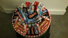 Candybar taart