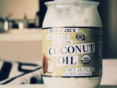 Coconut Oil hair mask- I (Rachel P.) did this last night and it's amazing... my hair smells like a tropical vacation and after bleaching it two days ago, the added moisture is wonderful