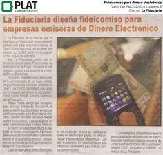 La Fiduciaria: Fideicomiso para dinero electrónico en el diario Del País de Perú (02/07/15)