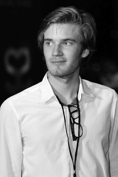 Felix Kjellberg- this man is the second love of my life.. because of brandon bahhha but I would say they are almost tied!