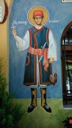 Hellenistic Art, Byzantine Icons, Orthodox Christianity, Orthodox Icons, Fresco, Saints, Quotes, Fictional Characters, Spiritual