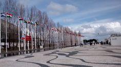Bandeiras - próximo teleférico Lisboa
