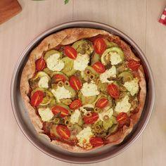 como se hace una pizza americana