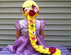 Rapunzel Wig Wigs for Kids Wigs Princess by ThePurplePumpkinShop