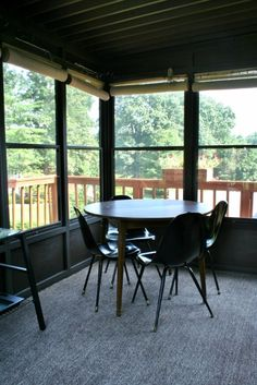 The Final Sun Room Before and After Reveal - Rappsody in Rooms