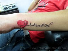 mom dad tattoo designs - Google Search