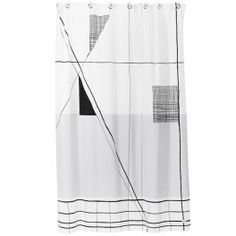 Ferm Living - Trace shower curtain