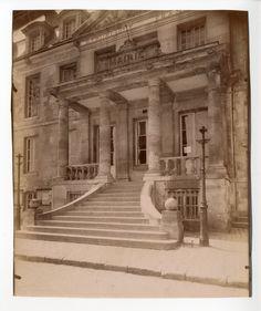 Eugène Atget chateau de Viarmes    #Europe #Paris