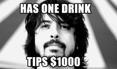 This is one of the many reasons why Dave Grohl is one cool dude!