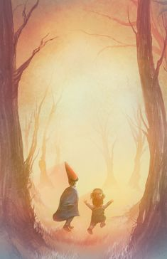 Into the Unknown - Over the Garden Wall by SWNightingale.deviantart.com on @DeviantArt