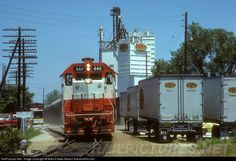 RailPictures.Net Photo: SLSF 444 St. Louis & San Francisco Railroad (Frisco) EMD GP38-2 at Rolla, Missouri by Mark & Mike Nelson forever400s.com