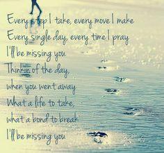 L miss you lyrics