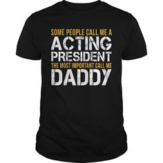 Awesome Tee For Acting ᗚ President***How to ? 1. Select color 2. Click the ADD TO CART button 3. Select your Preferred Size Quantity and Color 4. CHECKOUT! If you want more awesome tees, you can use the SEARCH BOX and find your favorite !!Acting President