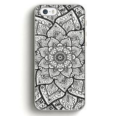 Mandala Flower iPhone SE Case | Aneend