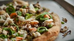 Recettes - Signé M - TVA - Pizza de luxe à partager « Pizza Isabella » SignéM Sur la Route!