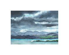 """Cloud Symphony Ring of Kerry Ireland"" - Art Print by Eva Marion in beautiful…"