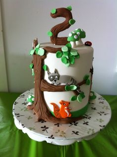 Woodland Animals — Birthday Cakes