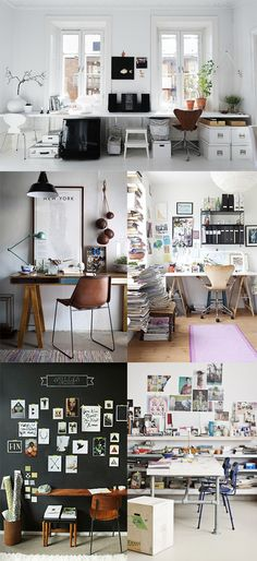 I like the top image (although too cluttered) and the two on the left below it - interesting mix of objects, but prefer a cleaner look.